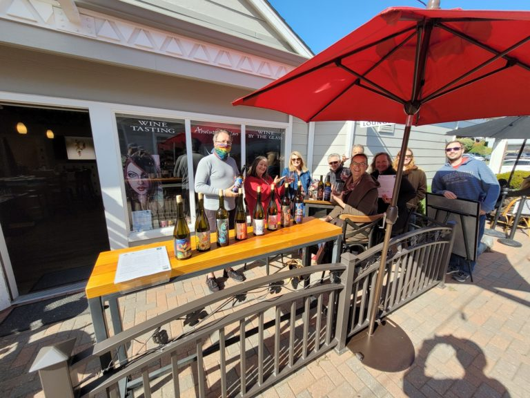 guests at tasting room reduced
